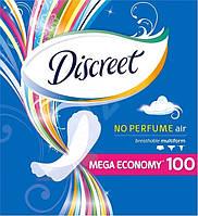 Ежедневные прокладки Discreet Air 100 шт.