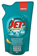 Средство для мытья акриловых ванн SANO Jet Bathroom Запаска 500мл