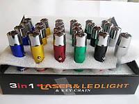 Лазерный фонарик LASER ультрафиолет