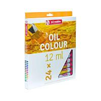 Масляные краски ArtCreation 24 цвета, 12 мл