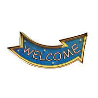 Декоративная табличка [ WELCOME ]