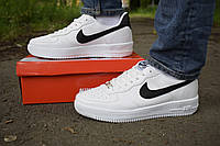 Кроссовки Nike air force белые мужские