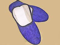 Тапочки женские текстильные  яркие 1706/21