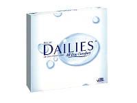 Контактные линзы однодневные для глаз Focus Dailies All Day Comfort (90 шт)