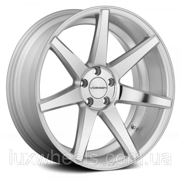 Оригинальные диски VOSSEN CV7 Silver Polished (R20x10 PCD5x112 ET45 HUB66.56)
