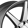 Литые диски VOSSEN CV7 Matte Graphite Machined (R20x8.5 PCD5x112 ET44 HUB66.56), фото 2