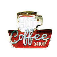 Декоративная табличка [ Coffee Shop ]