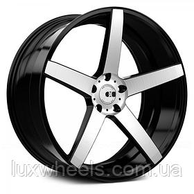 Литые диски XO LUXURY MIAMI Brushed Black (R20x8.5 PCD5x120 ET35 HUB72.56)