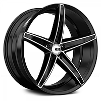 XO LUXURY ST. THOMAS Brushed Black (R20x8.5 PCD5x112 ET32 HUB66.6)
