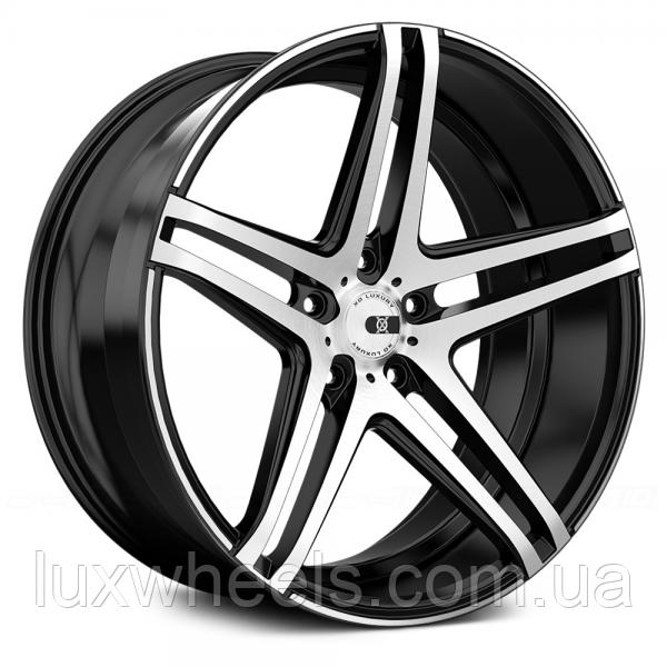 Авто диск XO LUXURY CARACAS Brushed Black (R20x8.5 PCD5x120 ET35 HUB72.56)