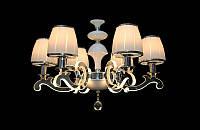 Классическая люстра в современном стиле на 6 плафонов