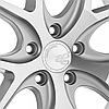 AVANT GARDE M580 Satin Silver (R19x9.5 PCD5x120 ET43 HUB72.56), фото 3