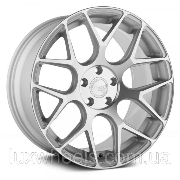 AVANT GARDE M590 Satin Silver (R20x10 PCD5x112 ET35 HUB66.56)