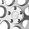 AVANT GARDE M590 Satin Silver (R20x10 PCD5x112 ET35 HUB66.56), фото 3