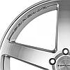 CONCAVO CW-5 Matte Grey Machine Face (R20x9 PCD5x120 ET35 HUB72.6), фото 3