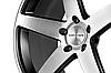 CONCAVO CW-5 Matte Black Machine Face (R20x10.5 PCD5x108 ET45 HUB66.6), фото 3