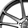 CONCAVO CW-S5 Matte Black Machine Face для BMW (R20x9 PCD5x120 ET35 HUB72.6), фото 3