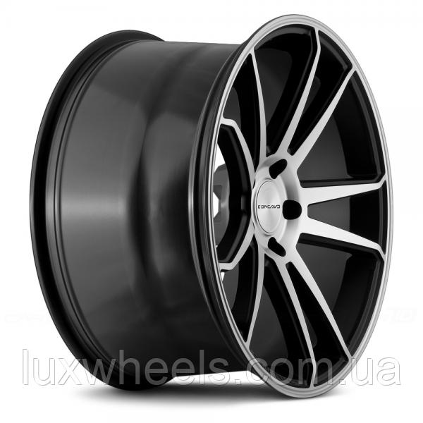 CONCAVO CW-S5 Matte Black Machine Face для BMW (R20x10.5 PCD5x120 ET42 HUB72.6)