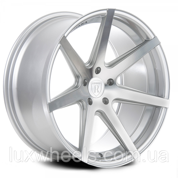 ROHANA RC7 Machine Silver (R20x9 PCD5x120 ET32 HUB72.56)