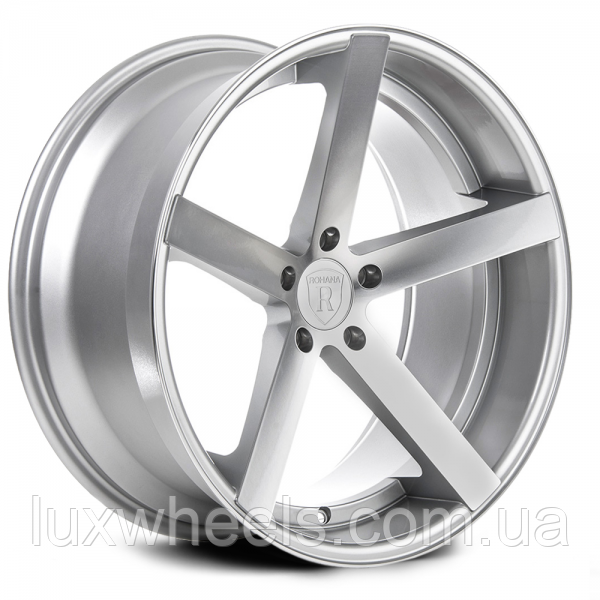 ROHANA RC22 Machine Silver (R20x10 PCD5x112 ET45 HUB66.6)