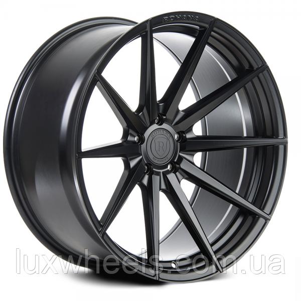 ROHANA RF1 Matte Black (R20x11 PCD5x120 ET28 HUB74.1)