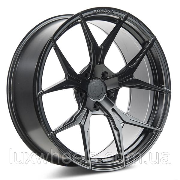 ROHANA RFX5 Matte Black (R20x10 PCD5x120 ET38 HUB74.1)