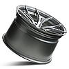 ROHANA RFX5 Brushed Titanium (R20x10 PCD5x120 ET38), фото 3