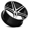 Оригинальные диски XO LUXURY CARACAS Brushed Black (R20x8.5 PCD5x112 ET32 HUB66.6), фото 2