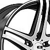 Оригинальные диски XO LUXURY CARACAS Brushed Black (R20x8.5 PCD5x112 ET32 HUB66.6), фото 4