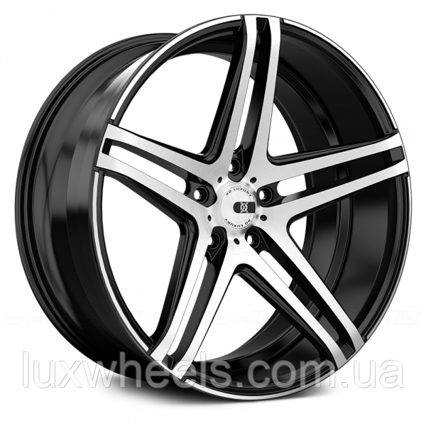Колесные диски XO LUXURY CARACAS Brushed Black (R19x9.5 PCD5x120 HUB72)
