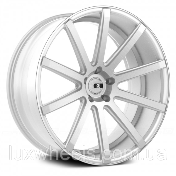 Автомобильные диски XO LUXURY TOKYO Brushed Silver (R20x10 PCD5x112 ET42 HUB66.6)
