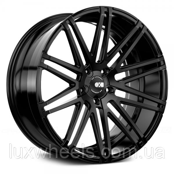 XO LUXURY MILAN Matte Black (R20x10 PCD5x120 ET42 HUB72.56)