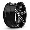 XO LUXURY ST. THOMAS Brushed Black (R20x10 PCD5x112 ET42 HUB66.6), фото 4