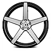 Литые диски XO LUXURY MIAMI Brushed Black (R20x8.5 PCD5x120 ET35 HUB72.56), фото 2