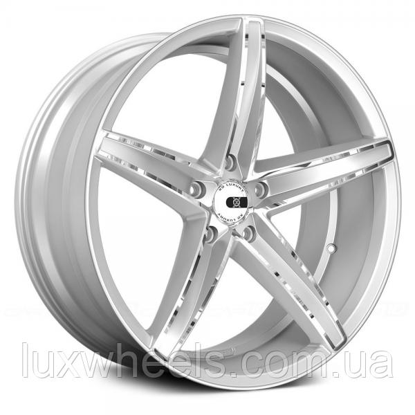Оригинальные диски XO LUXURY ST. THOMAS Chromed Silver (R20x10 PCD5x112 ET42 HUB66.6)