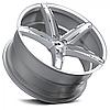 Оригинальные диски XO LUXURY ST. THOMAS Chromed Silver (R20x10 PCD5x112 ET42 HUB66.6), фото 3