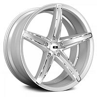 Диски XO LUXURY ST. THOMAS Chromed Silver для BMW (R20x8.5 PCD5x120 ET35 HUB72.56)