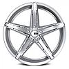 Диски XO LUXURY ST. THOMAS Chromed Silver для BMW (R20x10 PCD5x120 ET42 HUB72.56), фото 2