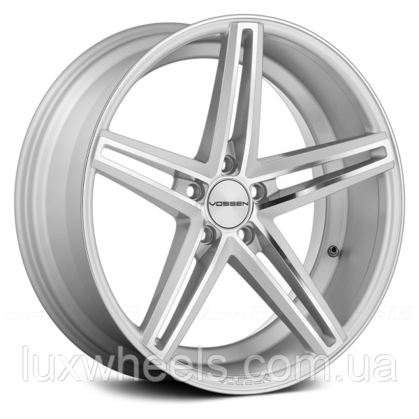 Литые диски VOSSEN CV5 Silver Polished (R20x10.5 PCD5x114,3 ET45 HUB73.1)
