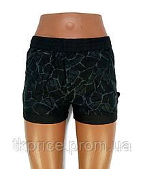 Женские шорты реплика Adidas черные