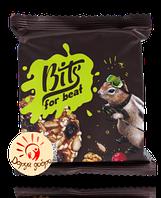"""Печенье """"Bits"""" ореховое с карамелью и клюквой, 50 гр."""