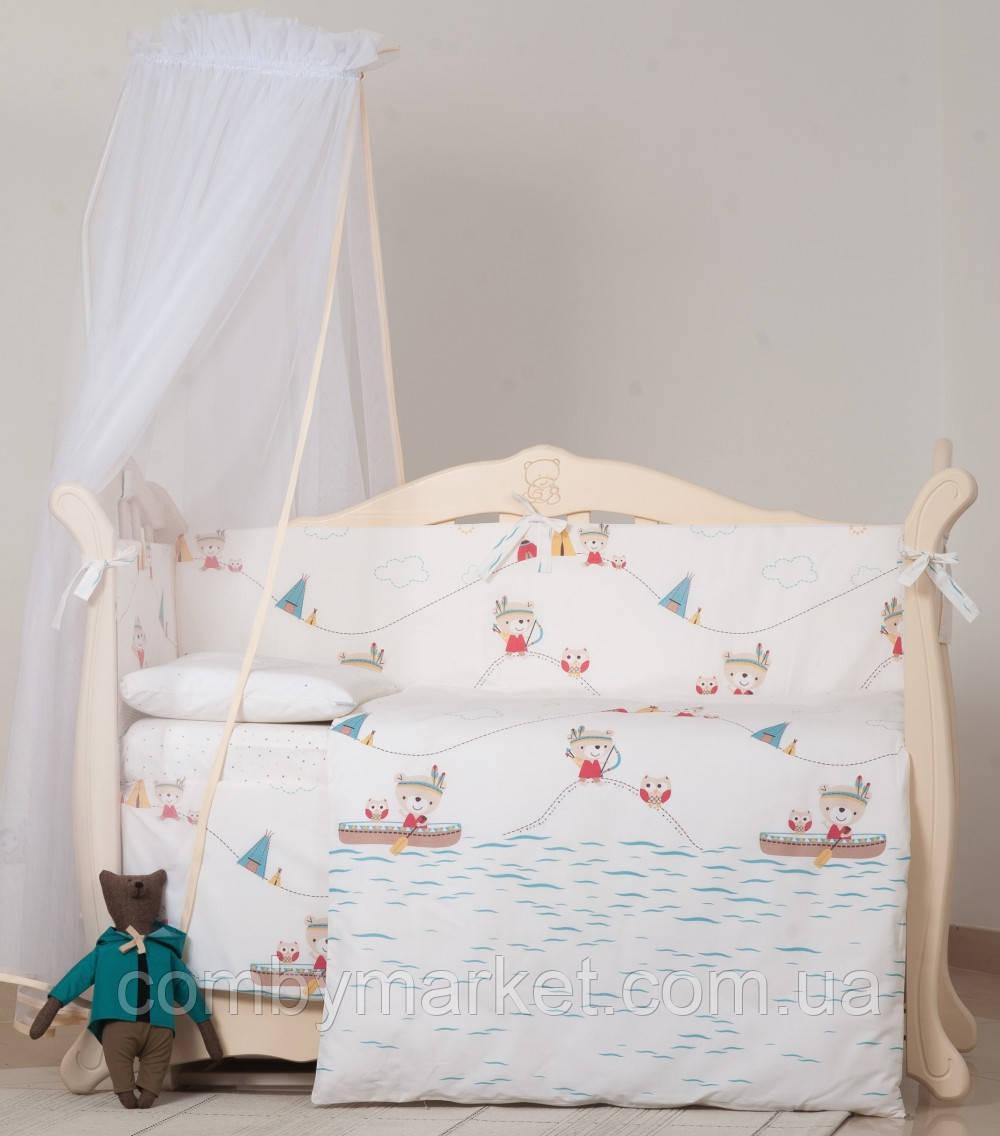 Детская постель Twins Eco Line Indian summer 6 эл E-012
