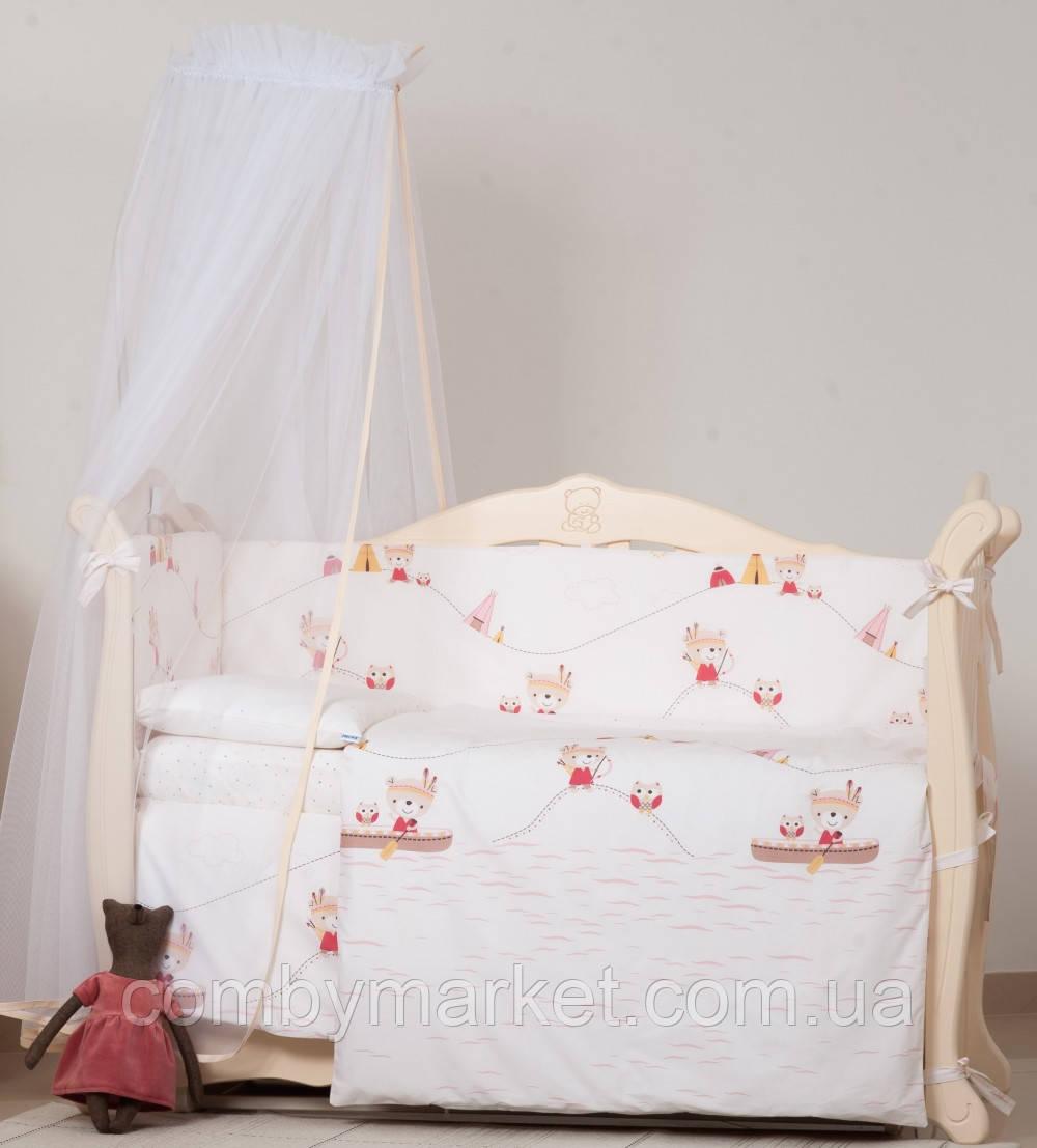 Детская постель Twins Eco Line Indian summer 6 эл E-013