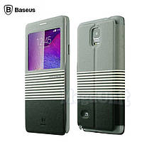 Baseus Eden Leather Case чехол-книжка для Samsung Galaxy Note 4 (n910)