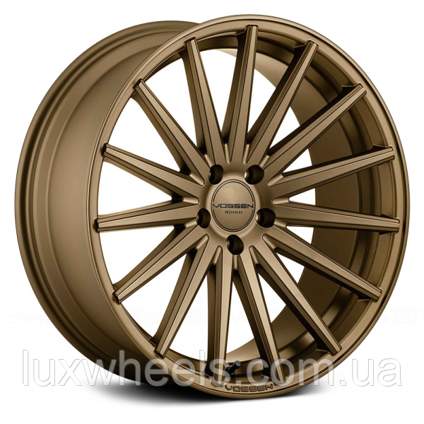 Авто диски VOSSEN VFS2 Satin Bronze (R20x10.5 PCD5x120 E42 HUB72.56)