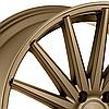 Авто диски VOSSEN VFS2 Satin Bronze (R20x10.5 PCD5x120 E42 HUB72.56), фото 2