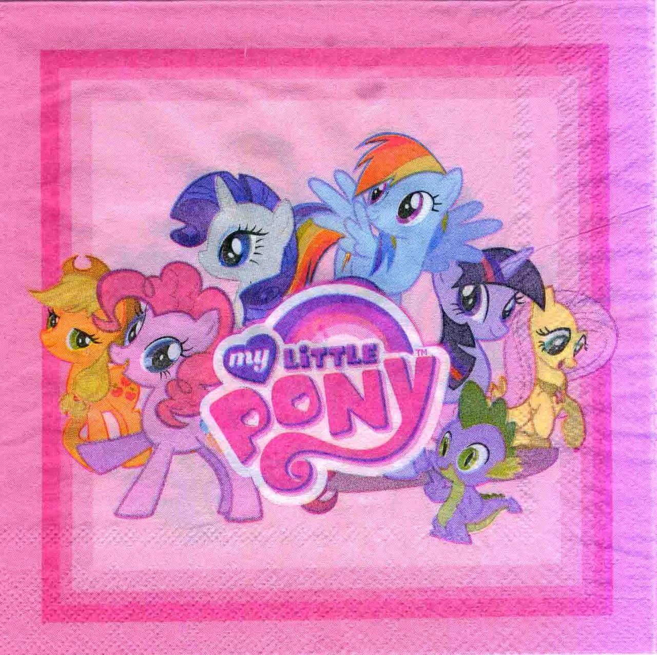 """Салфетки """"Little Pony"""". В упак: 15шт."""