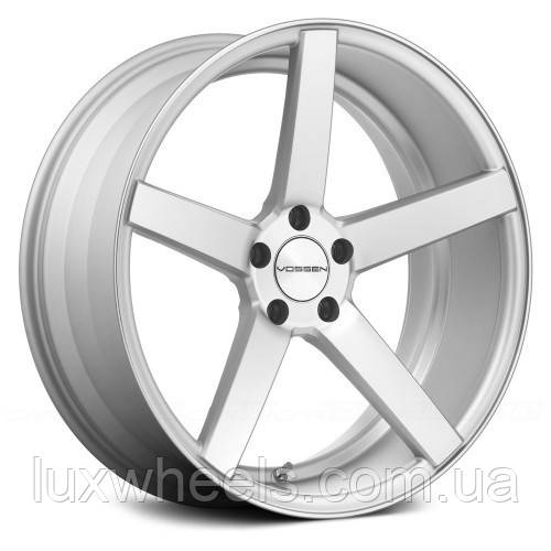 Авто диски VOSSEN CV3 Matte Silver Machined Face (R20x10.5 PCD5x120 ET42 HUB72.56)