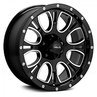 Оригинальные диски HELO HE879 Gloss Black/Milled Accents (R20x9 PCD6x139.7 ET18)