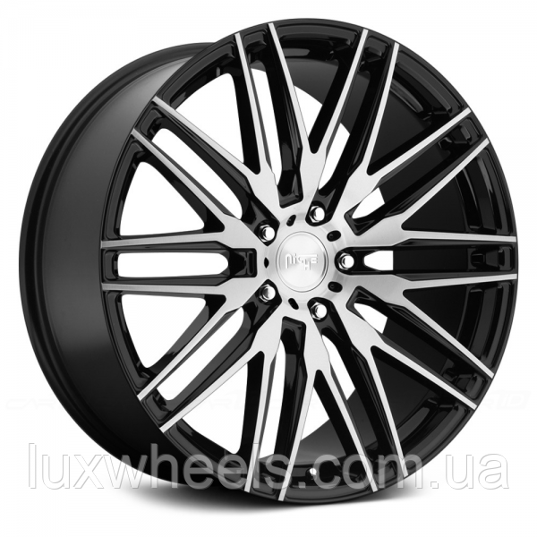 NICHE ANZIO Gloss Black with Brushed Face (R22x11 PCD5x120 ET40 HUB72.56)